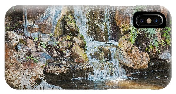 Gentle Waterfall With Sunbeam IPhone Case