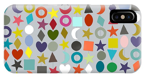 Geo Garland Silver IPhone Case