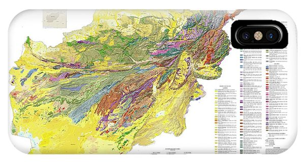 Geologic And Mineral Resource Map Of Afghanistan Photograph By Us - Us-geologic-survey-maps