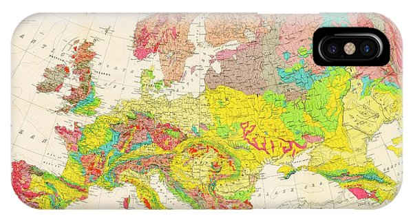 Geological Map Of Europe Photograph By American Philosophical Society