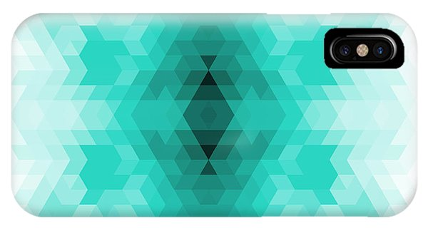 Old Fashioned iPhone Case - Geometric Hipster Retro Background by My Portfolio