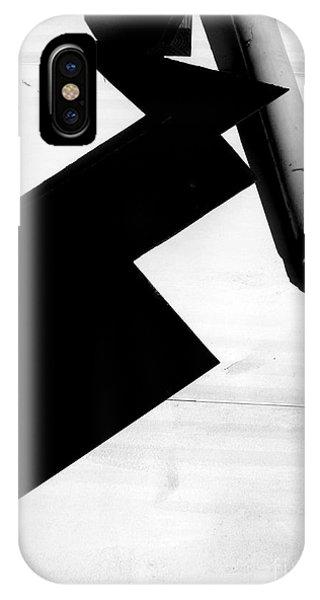 Geometric Shadow IPhone Case