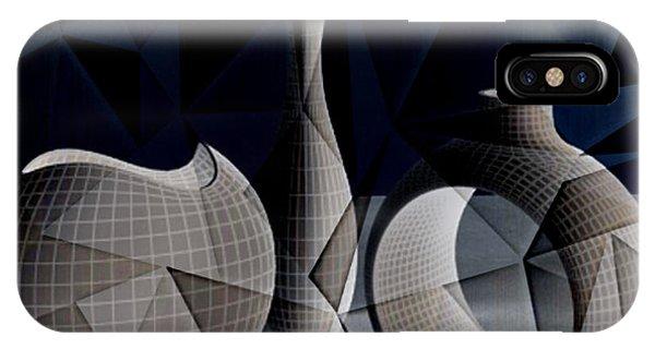 Geometric Vases IPhone Case