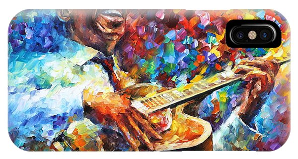 iPhone Case - Wes Montgomery by Leonid Afremov