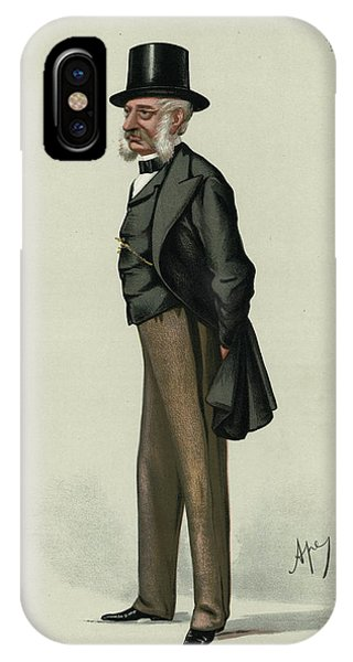 George Charles Bingham 3rd Earl Phone Case by Mary Evans Picture Library