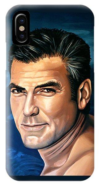 George Clooney 2 IPhone Case
