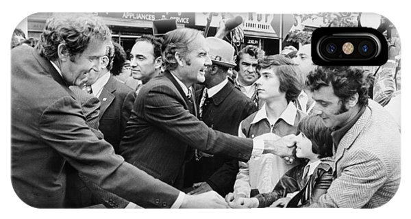 George Mcgovern And Ed Muskie IPhone Case