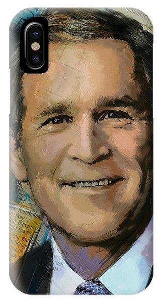George W. Bush IPhone Case