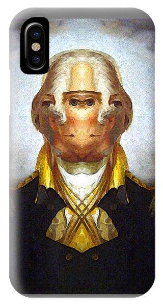 George-washington 2 IPhone Case