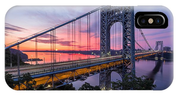 George Washington Bridge IPhone Case