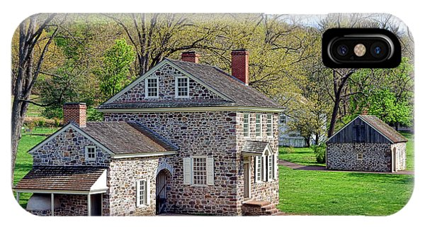 Revolutionary iPhone Case - George Washington Headquarters At Valley Forge by Olivier Le Queinec