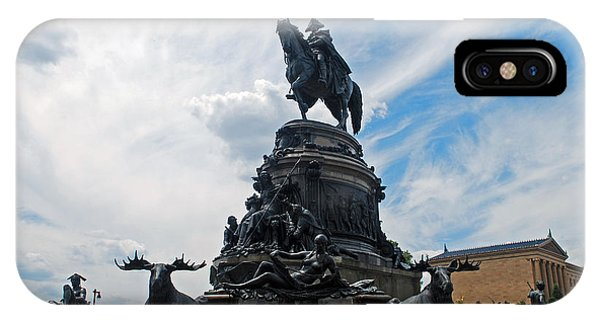 George Washington Statue IPhone Case