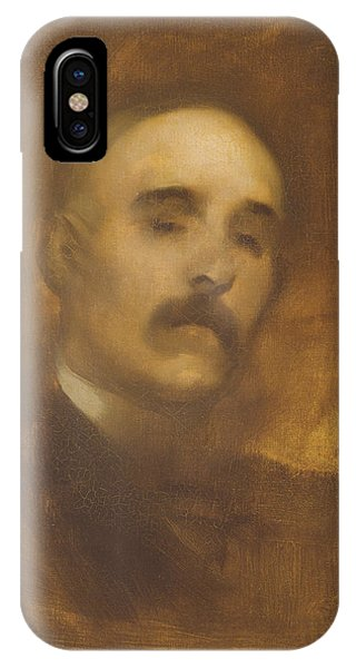 Prime Minister iPhone Case - Georges Clemenceau  by Eugene Carriere
