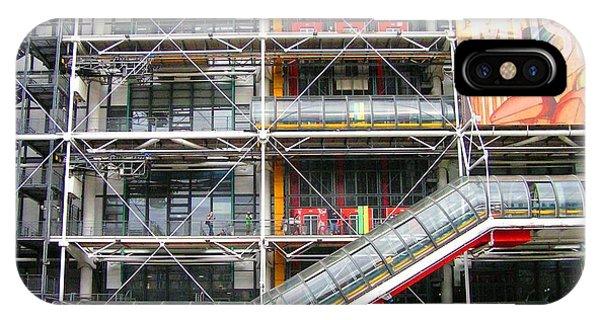 Georges Pompidou Centre IPhone Case