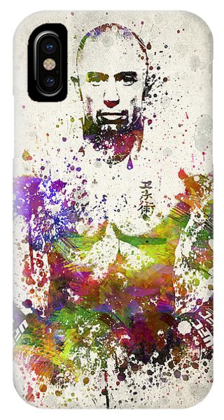 Georges St-pierre IPhone Case