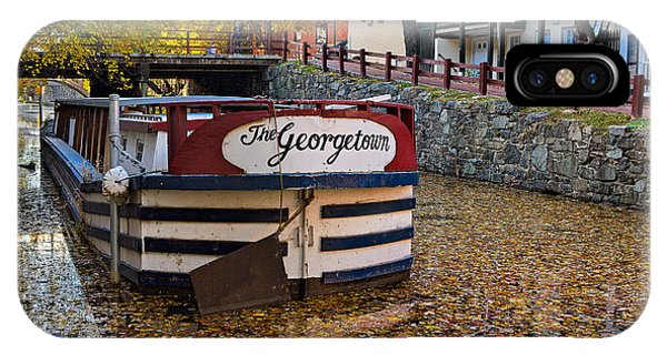 Georgetown Barge IPhone Case