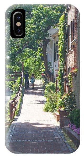 Georgetown Canal Walk IPhone Case