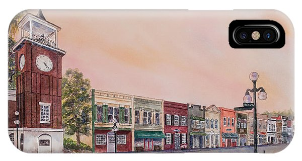 Georgetown Front Street IPhone Case