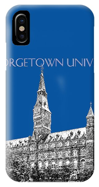 Georgetown University - Royal Blue IPhone Case