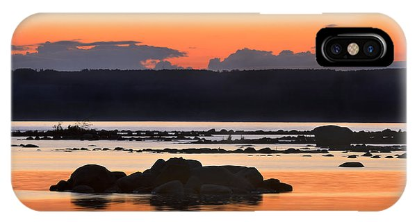 Georgian Bay Sunset-1 IPhone Case