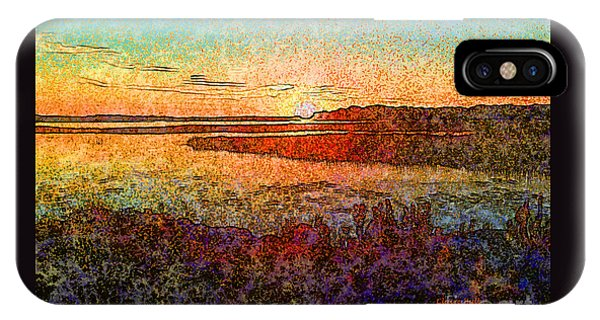Georgian Bay Sunset IPhone Case