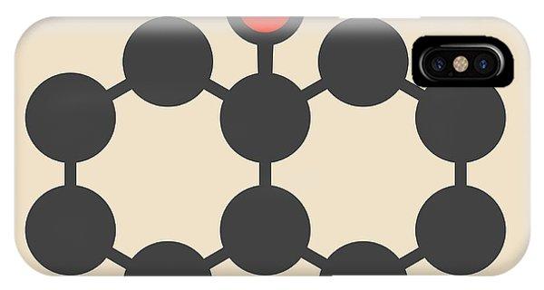 Earthy iPhone Case - Geosmin Earthy Flavour Molecule by Molekuul