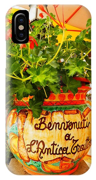Geranium Planter IPhone Case