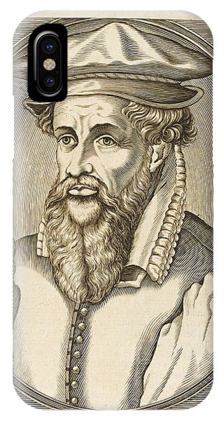 Gerardus Mercator Known Also As Gerhard Phone Case by Mary Evans Picture Library
