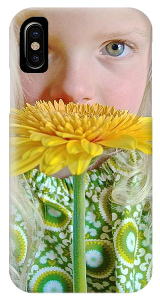 Gerbera Girl IPhone Case