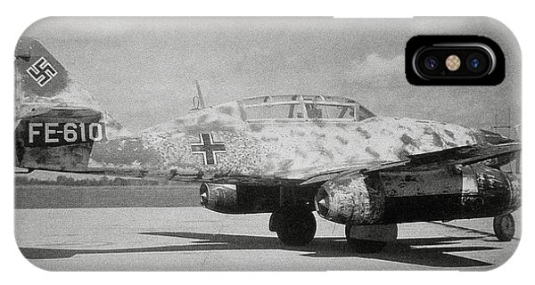 German Me 262 Wwii Jet Fighter Phone Case by Science Photo Library
