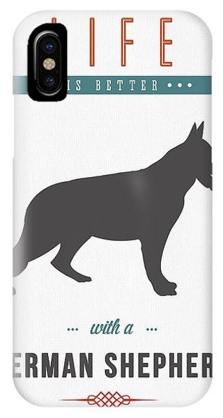 German Shepherd 01 IPhone Case