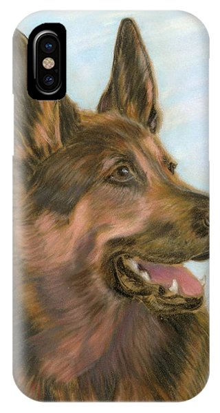German Shepherd Dog 2 IPhone Case