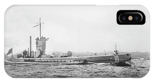 German Submarine IPhone Case