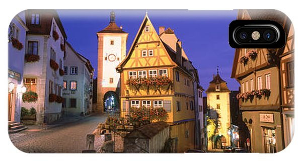Germany, Rothenburg Ob Der Tauber IPhone Case