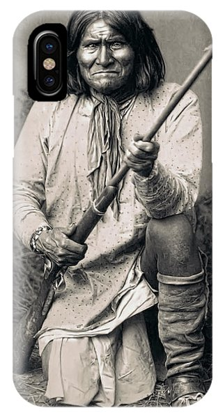 Geronimo - 1886 IPhone Case