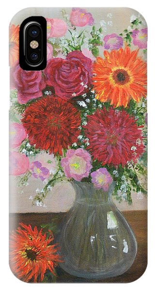 Get Well Flowers IPhone Case