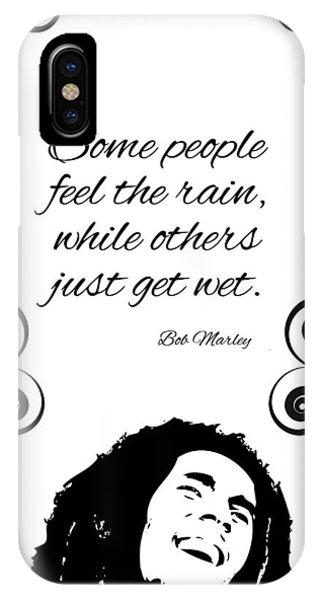 Get Wet Or Feel Rain IPhone Case