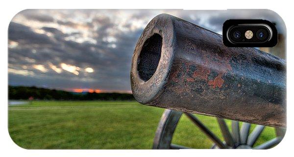 Gettysburg Canon Closeup IPhone Case
