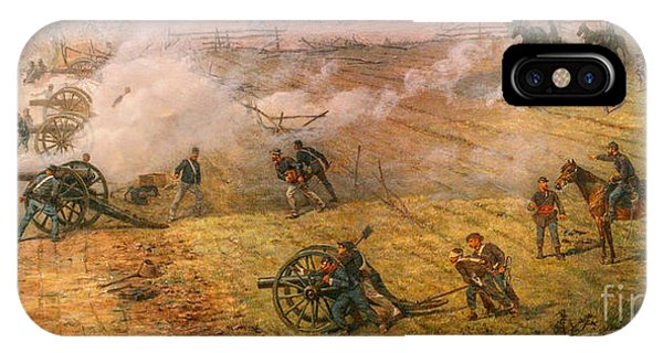 Gettysburg Cyclorama Detail One IPhone Case