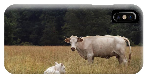 Ghost Cow And Calf IPhone Case