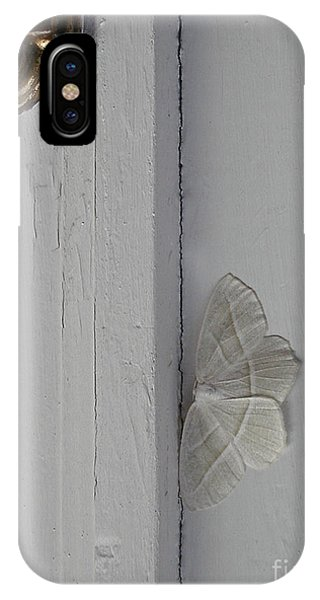 Ghost Doorbell Moth IPhone Case