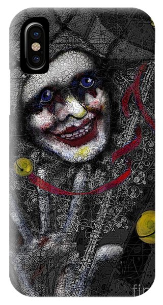 Ghost Harlequin IPhone Case