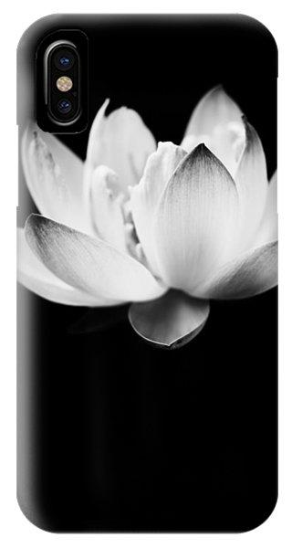 Ghost Lotus IPhone Case
