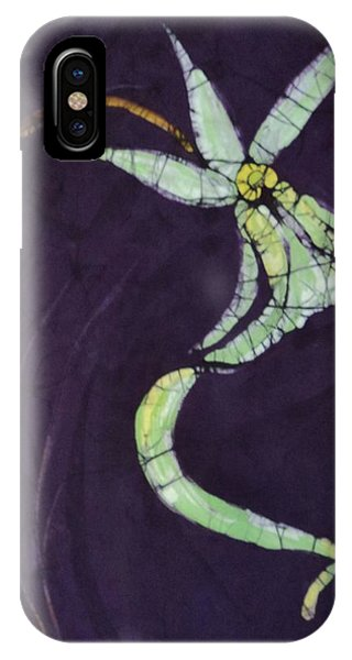 Ghost On Purple IPhone Case