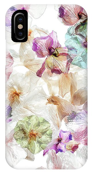 Orchid iPhone X Case - Ghost Orchids by Ludmila Shumilova