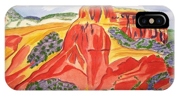 Ghost Ranch New Mexico IPhone Case