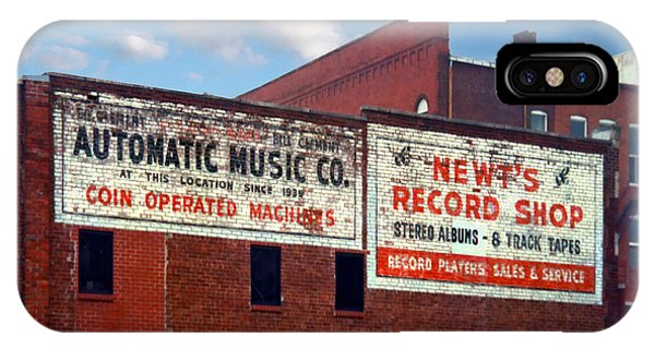 Ghost Sign. Clarksville Tennessee  IPhone Case