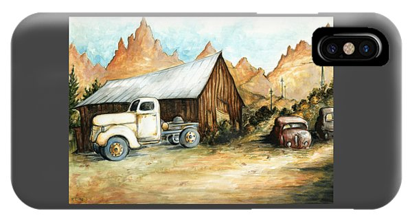 Ghost Town Nevada - Western Art IPhone Case
