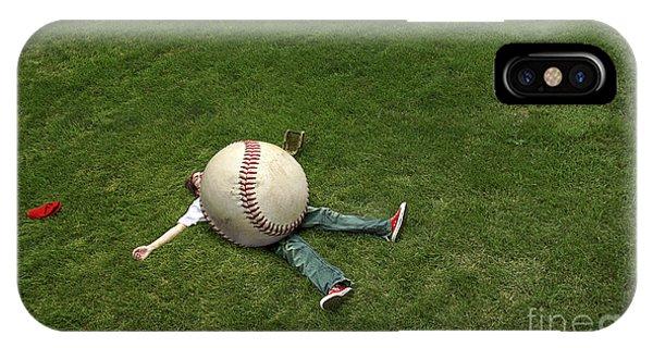 Giant Baseball IPhone Case