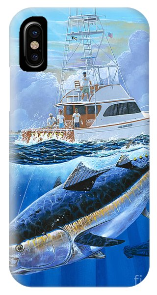 Reel iPhone Case - Giant Bluefin Off00130 by Carey Chen